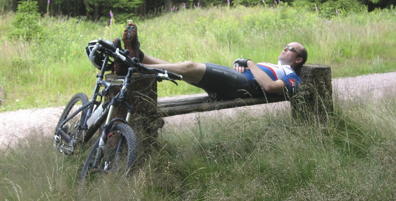 Mountainbike Wochenende in Schmiedefeld, Raum Erfurt