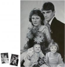 Pop Art Doppelportrait (120x90) nach Roy Lichtenstein München