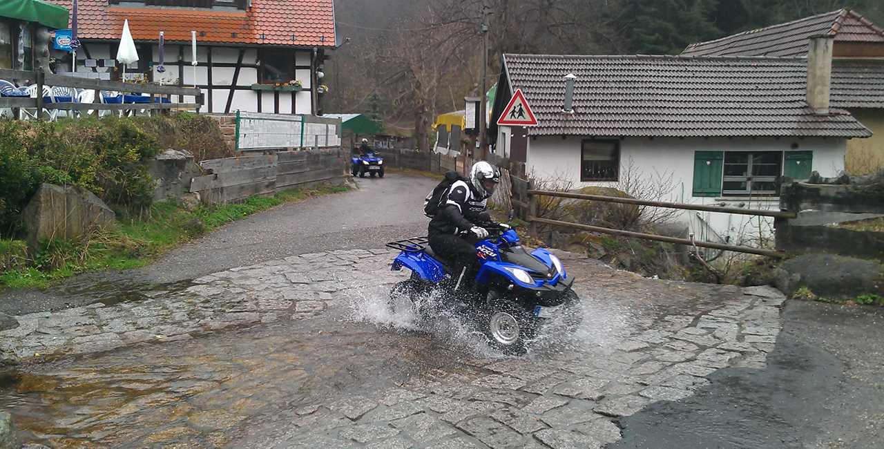 Quad Schnuppertour in Völkersbach im Schwarzwald