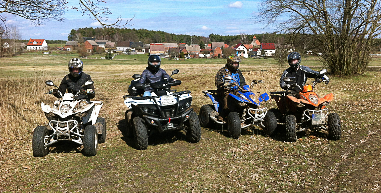 Quad Tour in Lutherstadt Wittenberg, Raum Magdeburg