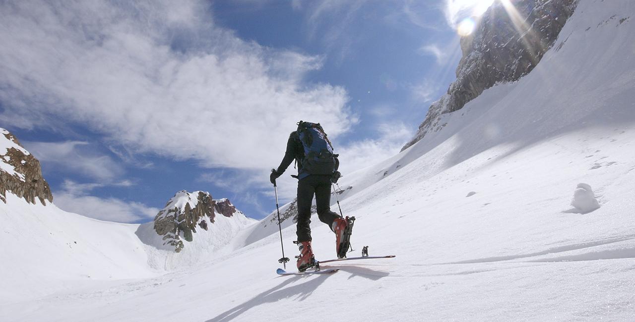 Skitour in Schneizlreuth