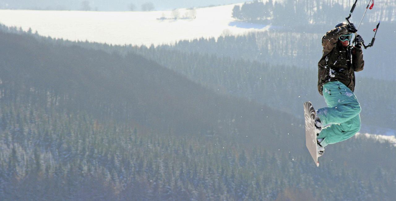Snowkiten Fortgeschrittenenkurs in Wallgau, Bayern