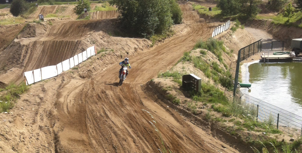 Motocross fahren Schnupperkurs in Tensfeld