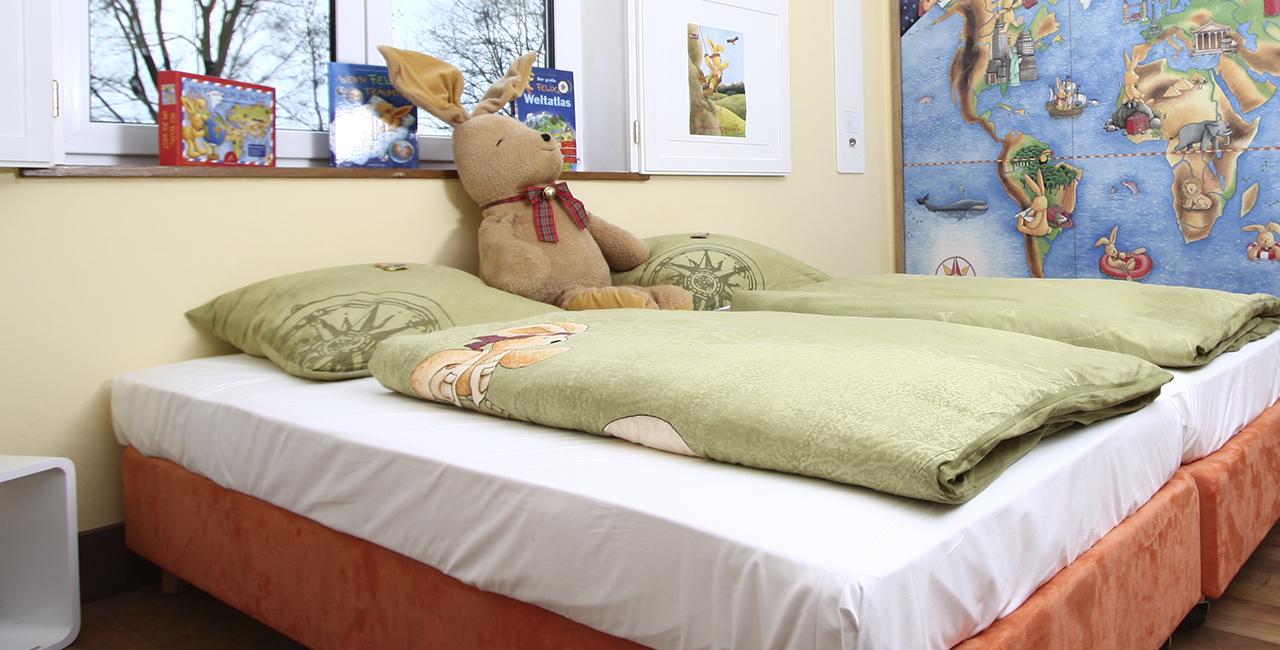 Übernachtung im Felix der Hase Zimmer in Ostbevern