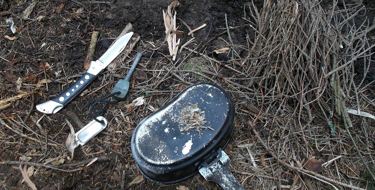 Wildnis-Survival Wochenende Messer in Clausthal-Zellerfeld