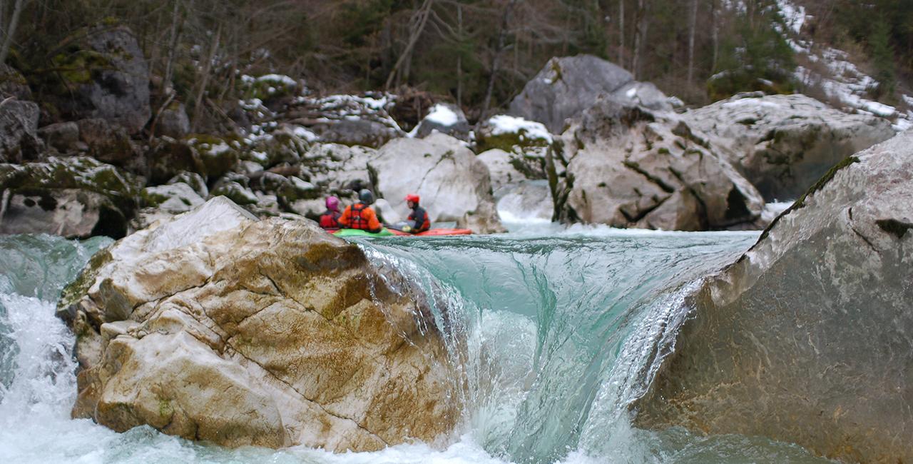 Wildwasser Wochenende in Schneizlreuth