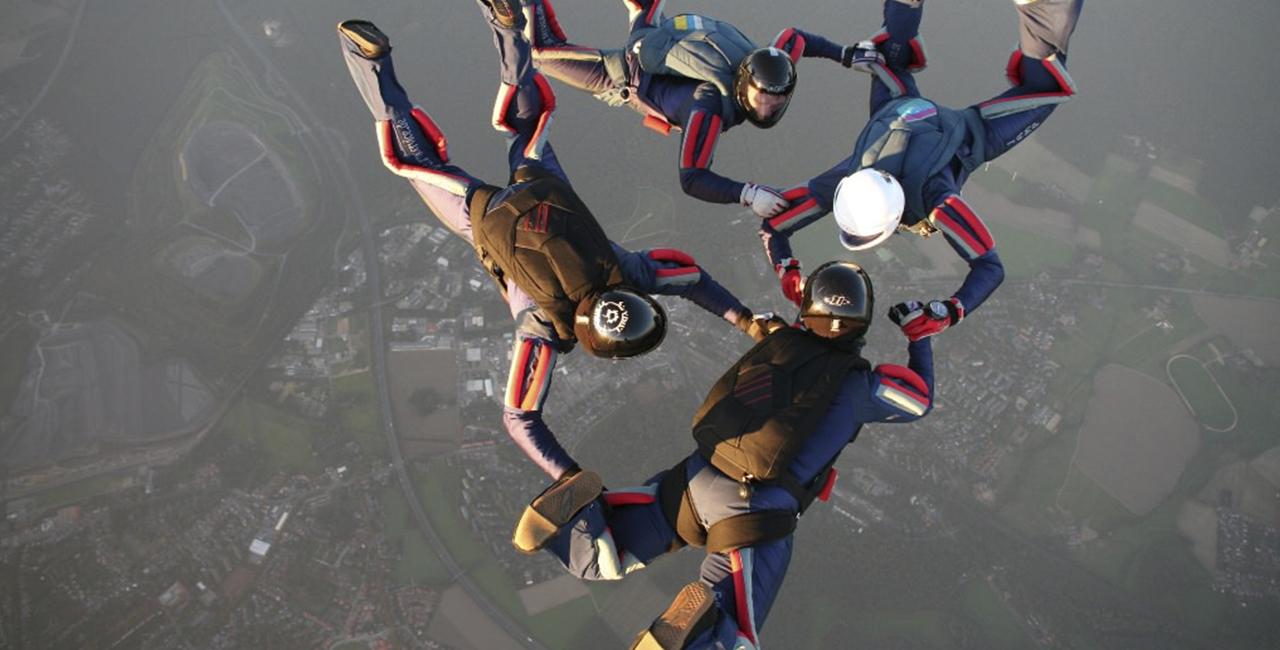 Fallschirmspringen Schnupperkurs Winsen
