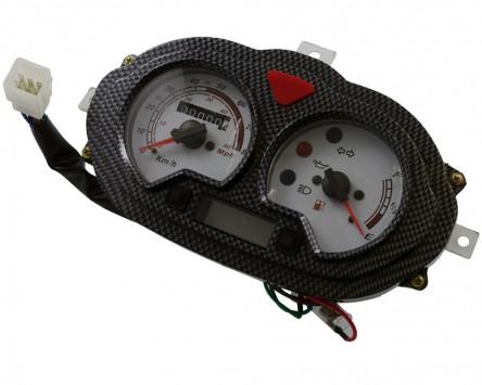 Tachometer China 2 Takt Roller für CPI, Keeway, Version 2