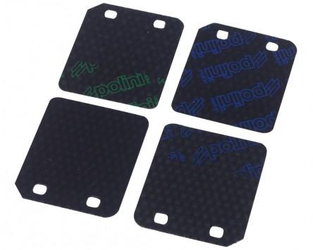 Membranplättchen POLINI Carbon für Minarelli liegend, Peugeot liegend, Aprilia, Suzuki LC