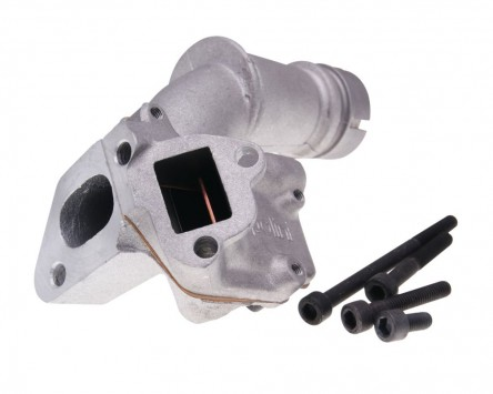 Ansaugstutzen POLINI Membran Doppelansauger 19mm für Vespa Special 50, Primavera 125