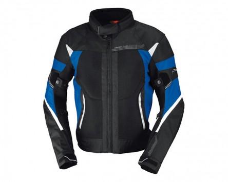 Motorradjacke IXS ZEPHYROS schwarz-blau-weiß Gr.2XL