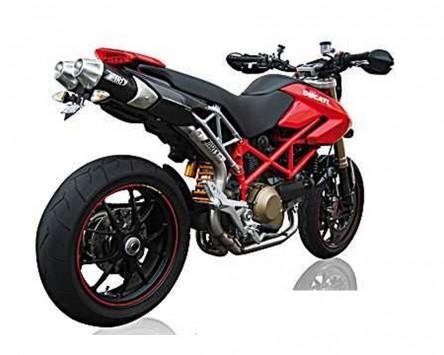 Auspuffanlage ZARD Top Gun für Ducati Hypermotard 796/1100