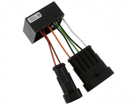 Blinkrelais BR19, lastunabhängig wasserdicht für Fahrzeuge mit LED-Blinkleuchten