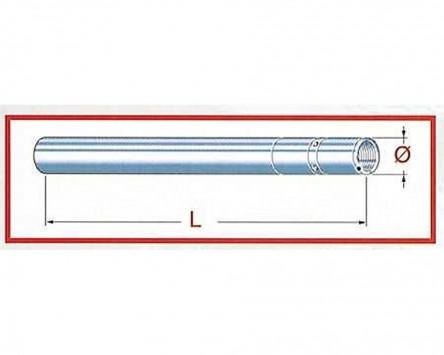 Standrohr Gabel Upside Down 820, Ducati 821, 13, D=43 mm L=580 mm, rechte Seite