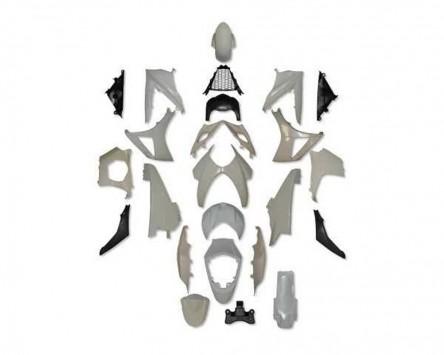 Verkleidung Set für Suzuki GSX-R 1000, 07-08, K7, K8, ABS unlackiert