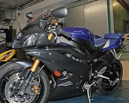 Verkleidung Set für Yamaha YZF R6, 06-07, ABS unlackiert