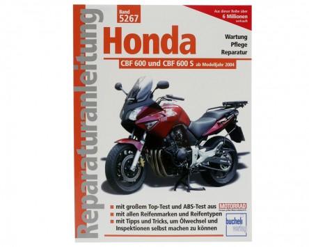 Reparatur-Anleitung Honda CBF 600/S, 04-