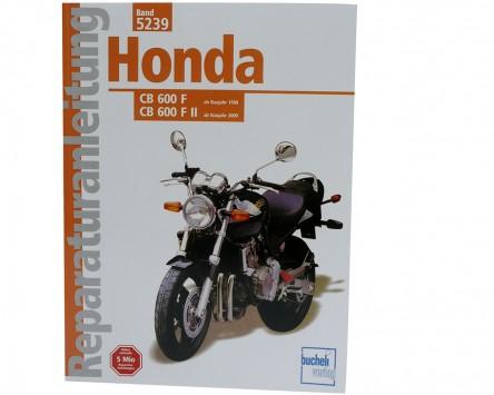 Reparatur-Anleitung Honda Hornet CB 600, ab 98