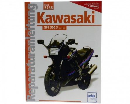 Reparatur-Anleitung Kawasaki GPZ 500 S (ab 1986)