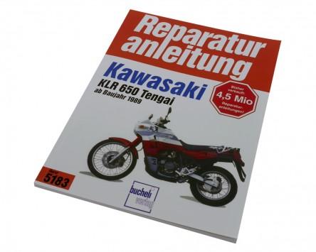 Reparatur-Anleitung Kawasaki KLR 600/650 Tengai, 83-92
