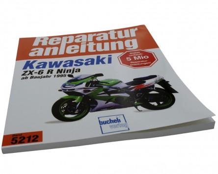 Reparatur-Anleitung Kawasaki ZX 6-R (95-97)