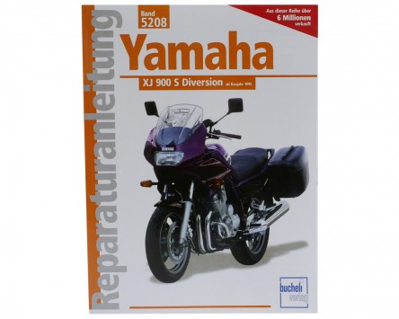 Reparatur-Anleitung Yamaha XJ 900 Diversion (ab 1995)