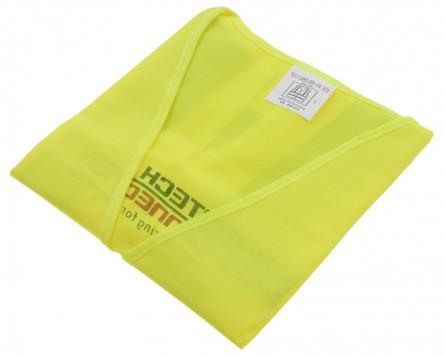 Sicherheitsweste. 100 % Polyester Größe L, neongelb, zb. für Motorrad