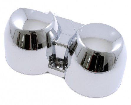 Gehäuseschale für original Tacho, chrom, CB600 Hornet 98-02 CB 750 Seven-Fifty