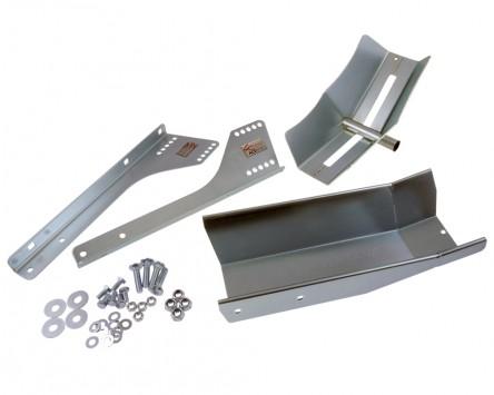 Motorradständer STEADYSTAND FIX AC152, verzinkt, nur zum festen Einbau geeignet.