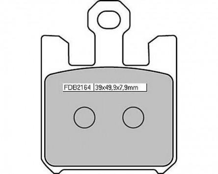 Bremsbeläge Sinter Racing Ferodo FDB 2164 XRAC 4 Beläge / Satz