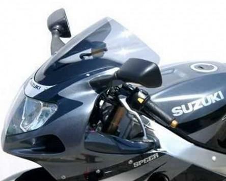 Scheibe MRA-Racingscheibe, Suzuki GSX-R 600, 01-03, GSX-R 750 00-03, blau