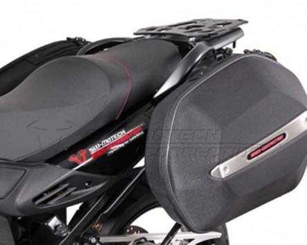 Seitenkoffer System Aero ABS. ABS/600D nylon, schwarz, Suzuki DL 650 11-