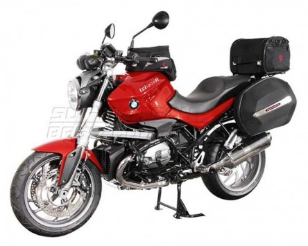 Seitenkoffer System Aero ABS/600D nylon, schwarz, BMW R 1200 R. 11-, K27/R1ST