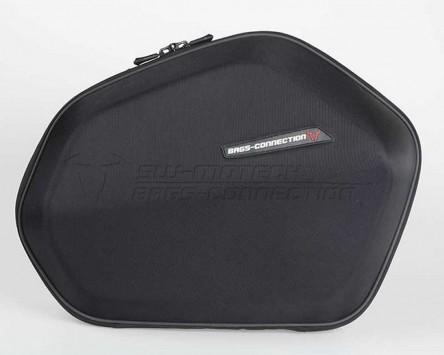 Seitenkoffer System Aero ABS/600D nylon, schwarz, Honda CBF 1000 F 10-,SC58/SC64