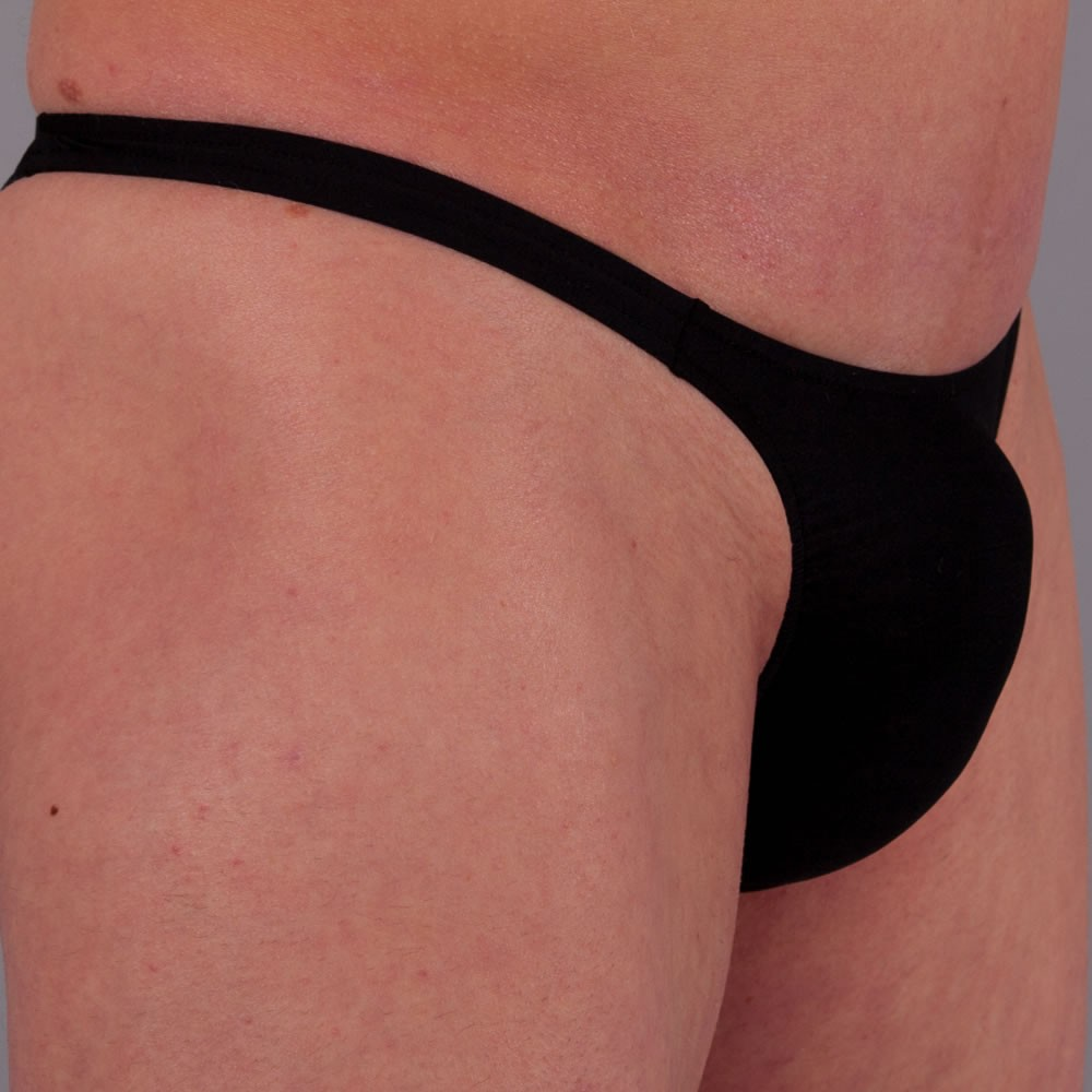exclusive Mens String Tanga UNI Schwarz
