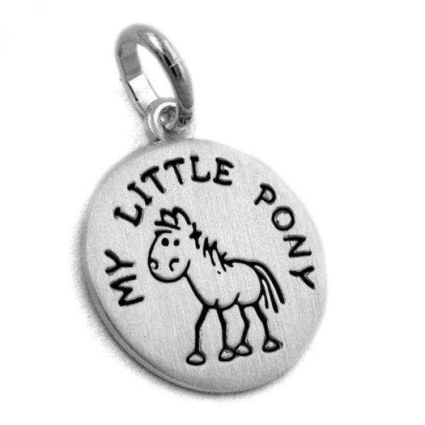 Anhänger, my little Pony, Silber 925