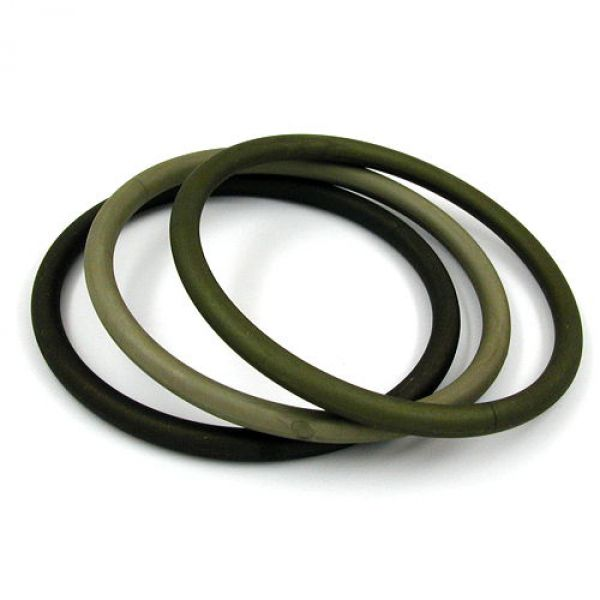 Armreifen, Ringspiel 75x15 oliv-ton matt -