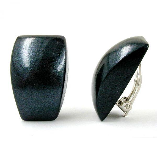 Clip, Trapez, schwarz-metallic