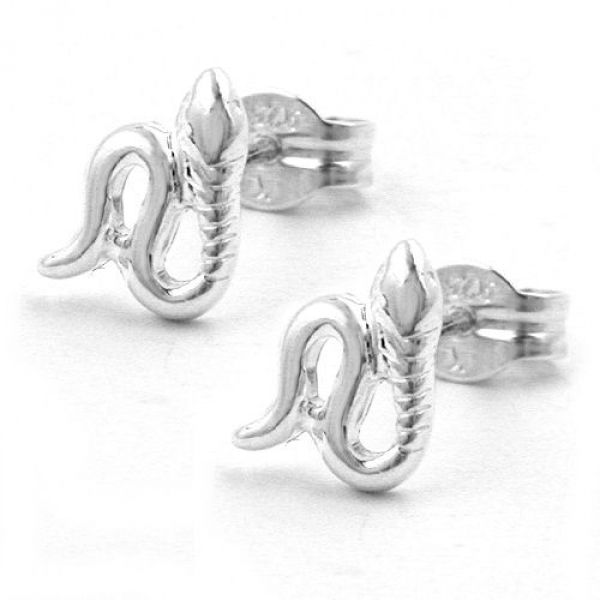 Stecker, Schlange-mini, Silber 925
