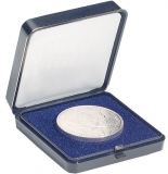 Münzetui blau - bis 60mm