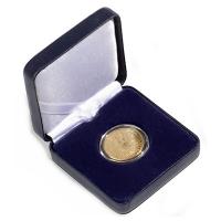 Münzetui Nobile (Metall) - bis 28mm