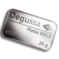 Platinbarren - 20g Platin