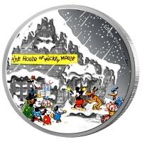 Niue - 2 NZD Disney Weihnachtsgrüße 2015 - 1 Oz Silber