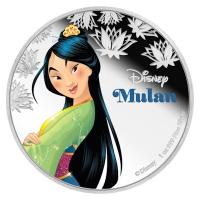 Niue - 2 NZD Disney Mulan 2016 - 1 Oz Silber