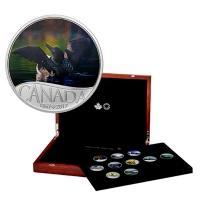 Kanada - 10 CAD 150 Jahre Kanada Eistaucher 2016 - Silbermünze BOX