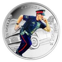Kanada - 15 CAD Nationalhelden Polizei 2016 - Silbermünze