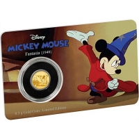 Niue - 2,5 NZD Disney Mickey Mouse Fantasia 2017 - 0,5g Gold