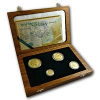 Südafrika - Natura Special Set 2002 - 1,9 Oz Gold
