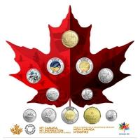 Kanada - 9,05 CAD 150 Jahre Kanada 2017 - 12 Münzen Satz