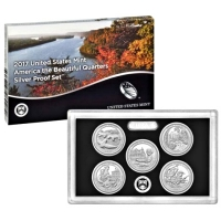USA - America the Beautiful Quarters Silver Set 2017 - Silber PP
